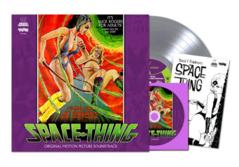 Space Thing Original Motion Picture Soundtrack Limited Vinyl Edition with Bonus DVD