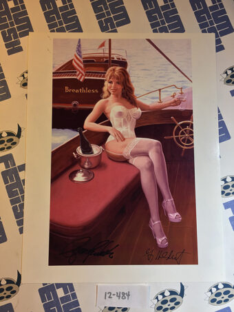 Breathless 8×10 inch Art Print Signed by Artist Greg Hildebrandt and Model Stacy E. Walker