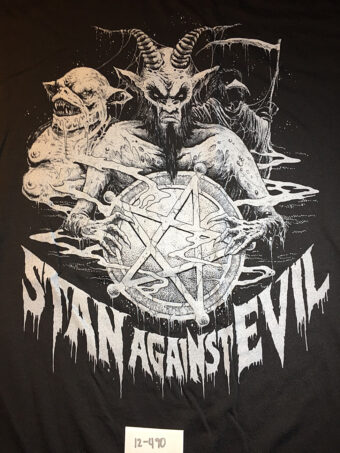 Stan Against Evil Convention Exclusive Promotional T-Shirt