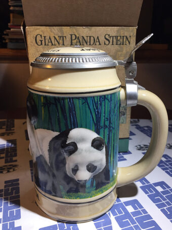 Budweiser Endangered Species Series: Giant Panda Stein with Box (1992)