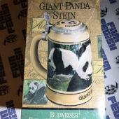 Budweiser Endangered Species Series: Giant Panda Stein with Box (1992)