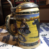 The Hunter's Companion Series: Labrador Collectible Stein Anheuser Busch (1992) with Box