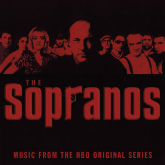 (LP Outside) The Sopranos: Music From The HBO Original Series 2-Disc 180 Gram Translucent Red Vinyl Edition