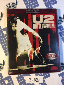 SEALED U2: Rattle and Hum HD DVD Edition