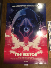 The Visitor Original Drafthouse Films 27×40 inch Movie Poster by Brandon Schaefer [D12]