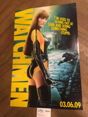 Watchmen Original 11×17 inch Silk Spectre II Character Movie Poster (2009) [D90]