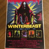 Winterbeast Original 11×17 inch Movie Poster (1992) Cult Horror [D97]