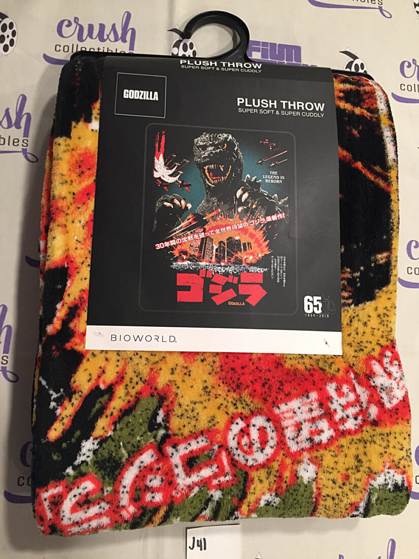 Bioworld 48×60 inch Godzilla 1985 Poster Super Soft Fleece Throw Blanket