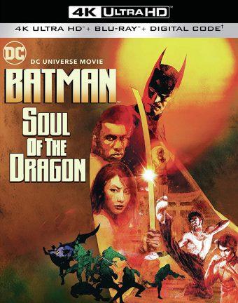 DCU: DC Universe Movie – Batman: Soul of the Dragon 4K Ultra HD + Blu-ray + Digital