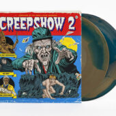 Creepshow 2 (1987) Original Motion Picture Soundtrack 2-LP Vinyl Edition (Old Chief Woodenhead – Metallic Golden Brown / Deep Teal Swirl)