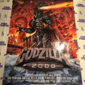 Godzilla 2000 Original 27×40 inch Double-Sided Movie Poster (1999) [J31]