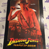 Indiana Jones and the Temple of Doom Original 17×24 inch Movie Poster (1984) [J30]