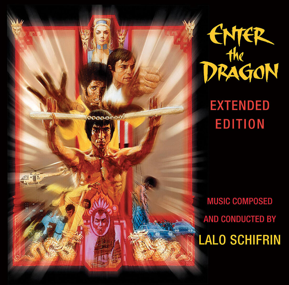 Enter the Dragon Original Motion Picture Soundtrack Extended Edition Composed by Lalo Schifrin CD