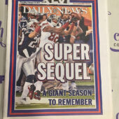 New York Daily News Commemorative Section – Super Bowl XLVI Winning Coverage Giants vs. New England Patriots (Feb. 9, 2012) [J52]