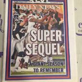 New York Daily News Commemorative Section – Super Bowl XLVI Winning Coverage Giants vs. New England Patriots (Feb. 9, 2012) [J52]