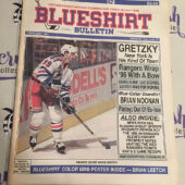 Blueshirt Bulletin New York Rangers Wayne Gretzky, Brian Leetch Poster (February 1997) [J54]
