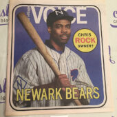 The Village Voice Chris Rock, The Newark Bears (May 13-19, 2015) [J55]