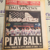 New York Daily News 911 Tribute Special Edition Play Ball (September 22, 2001) [J58]