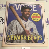 The Village Voice Chris Rock, The Newark Bears (May 13-19, 2015) [J62]