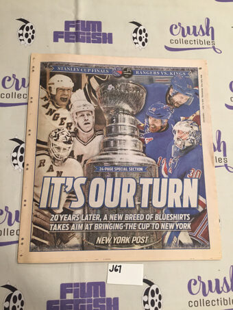 New York Post 24-Page Special Section Stanley Cup Finals Rangers vs. Kings (June 4, 2014) [J67]