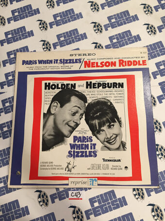 Paris When It Sizzles Original Soundtrack Music Score by Nelson Riddle Vinyl Edition (1964) [C43]