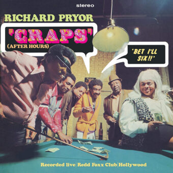 Richard Pryor Craps (After Hours) Expanded CD Special Edition with Bonus Tracks