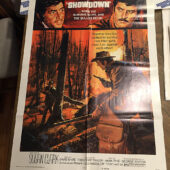 Showdown Original 27×41 inch Movie Poster (1973) Dean Martin, Rock Hudson Western [C58]