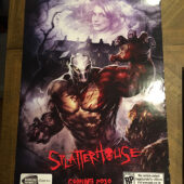 SplatterHouse Original 24×36 inch Promotional Game Poster (2010) [D02]