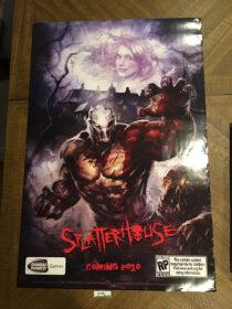 SplatterHouse Original 24×36 inch Promotional Game Poster (2010) [D02]