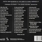 The Bride Wore Black 50th Anniversary Recording of the Complete Original Soundtrack Score CD Edition