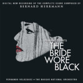 The Bride Wore Black 50th Anniversary Recording of the Complete Original Soundtrack Score CD Edition