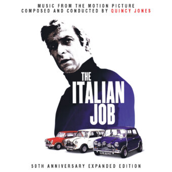 The Italian Job (1969) 50th Anniversary Expanded Original Motion Picture Soundtrack CD by Quincy Jones