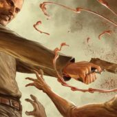 The Walking Dead Deluxe issues 13-18 return with stunning new Dave Rapoza connecting cover art