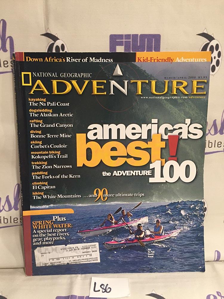 Adventure Magazine: National Geographic (March/April 2000) [L86]