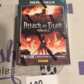 Attack on Titan Metax Trading Card Game Demo Deck – Panini [L92] SEALED