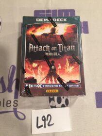 Attack on Titan Metax Trading Card Game Demo Deck – Panini [L92] SEALED