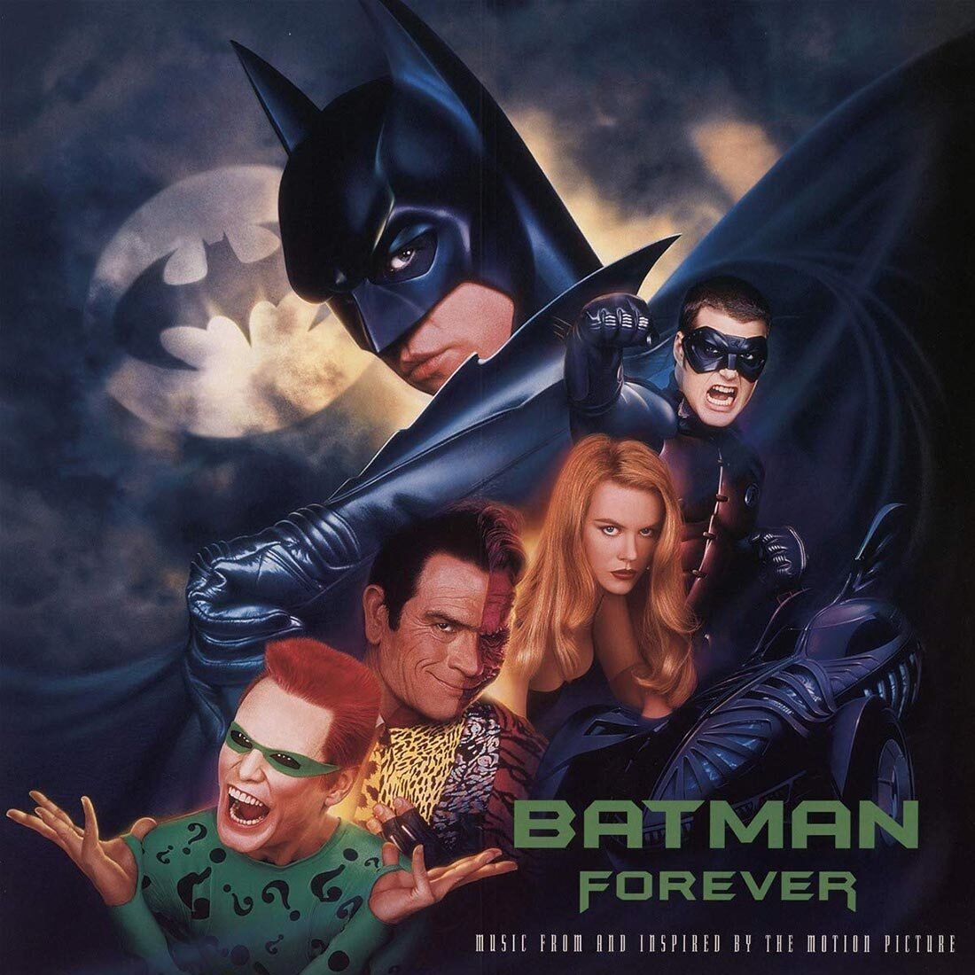 Batman Forever Music From and Inspired by the Motion Picture Soundtrack 2-LP Deluxe Vinyl Edition