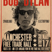 Bob Dylan Manchester 1966 Concert 24 x 36 inch Music Poster