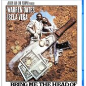 Bring Me The Head of Alfredo Garcia Special Edition Blu-ray with Slipcover