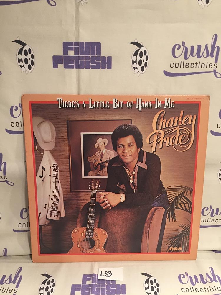 Charley Pride Original There's A Little Bit of Hank in Me Album Sleeve (1980) [L83] (SLEEVE ONLY)
