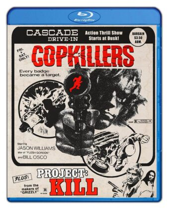 Cop Killers + Project: Kill Drive-in Double Feature No. 5 Blu-ray Edition