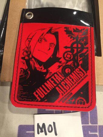 Square Enix FullMetal Alchemist Promo Special Pass Case (2009) [M01]