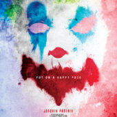 Joker Painted Put On A Happy Face (2019) 24×36 inch Movie Poster with Joaquin Phoenix
