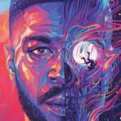 Kid Cudi Man on the Moon 24 x 36 inch Music Poster