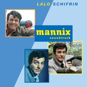 Mannix Original Television Series Soundtrack Score Composed by Lalo Schifrin CD Edition