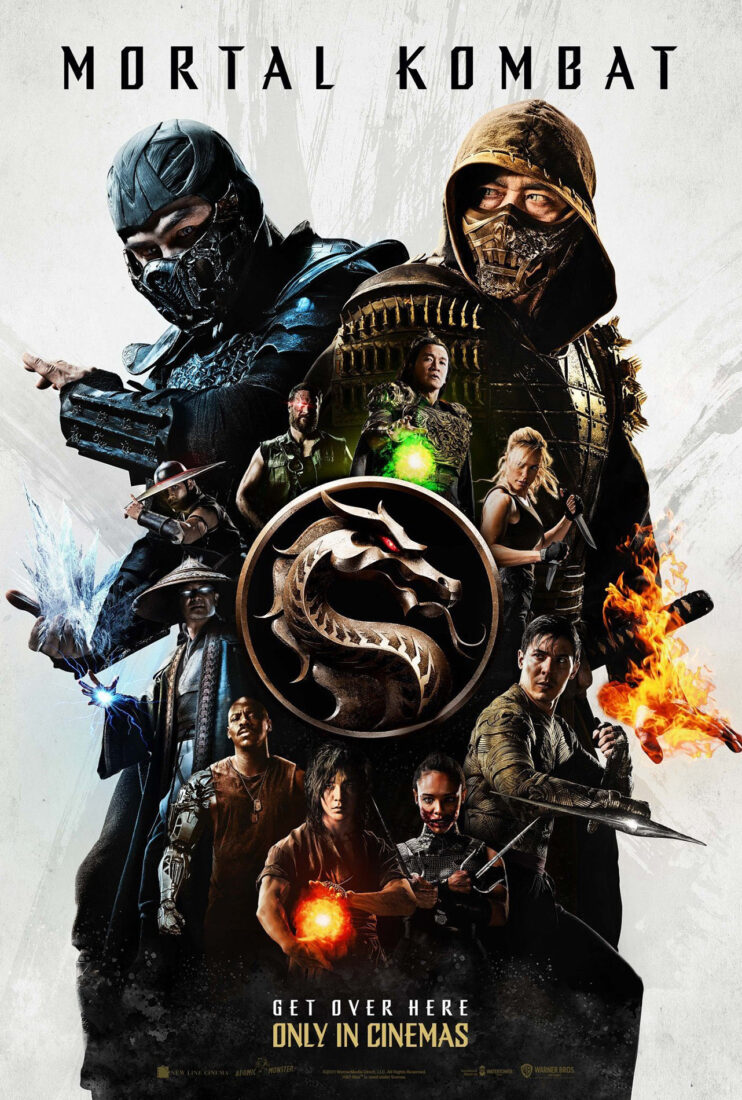 Check out the new poster for Mortal Kombat