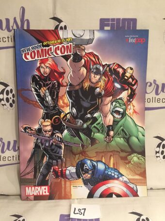 New York Comic-Con 2013 Official Program Guide Marvel Avengers Cover