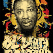 Wu Tang Clan Co-Founder Ol' Dirty Bastard Graffiti 24 x 36 inch Music Poster