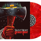 Silent Night, Deadly Night Original Film Soundtrack – RSD Black Friday 2020 Chimney Hellfire Red/Orange Swirl Vinyl Limited Edition