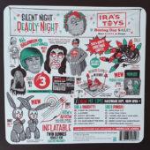 Silent Night, Deadly Night Original Film Soundtrack – RSD Black Friday 2020 Chimney Hellfire Red/Orange Swirl Vinyl Limited Edition